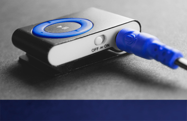 MP3 Player Werbemittel